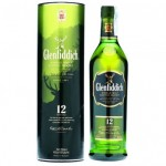 Whisky Glenfidich 12 anys 1 l.