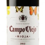 White wine ecological Campo viejo rioja  ,  75 cl.