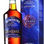 whisky Bowmore Black Rock, 1l.