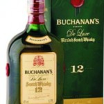 Buchanan's de luxe 12 years whisky 1l.
