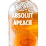 Vodka Absolut Apeach 1lt