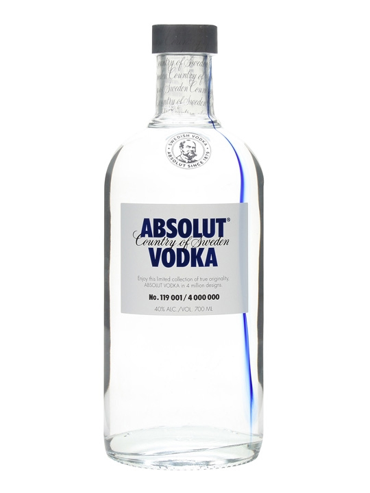 absolut originality 70cl