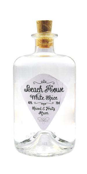 ron beach house white spiced 70cl