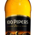 100 Pipers Deluxe Blended Scotch Whisky 1lt