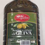 El Miguelete -Aceite De ORUJO De Oliva- (jaén) 5lt