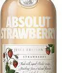 Vodka Absolut Strawberry -Juice Edition- 35º 50cl